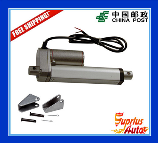 Free Shipping DC 12V/24V 8inch/200mm electric linear actuator, 1000N/100kgs load linear actuators with mounting brackets free shipping dc 12v 24v 9inch 225mm linear actuator 1000n 100kgs load electric linear actuator with mounting brackets