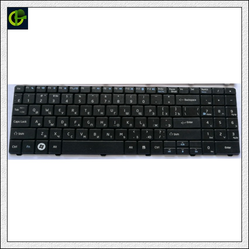 Russian Keyboard for DNS A35 A35FE A35YA Pegatron A15 A15HE A15FD A15HC A17 A17A A17FD A17HC A25PA  a35fb RU Black same as photo-in Replacement Keyboards from Computer & Office on