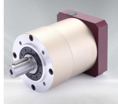 Réducteur planétaire à engrenage droit à bride ronde 60 boîte de vitesses 12 arcmin 15:1 à 100:1 pour NEMA23 arbre d'entrée de moteur pas à pas 8mm