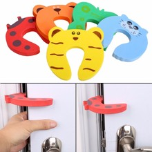 5Pcs/Lot Animal Baby Security Door Card Protection Tools Baby