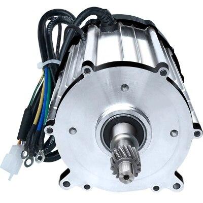 DC48V/60V/72V 1500W 3200rpm Small DC magnetic brushless motor / differential motor / electric scooter motor