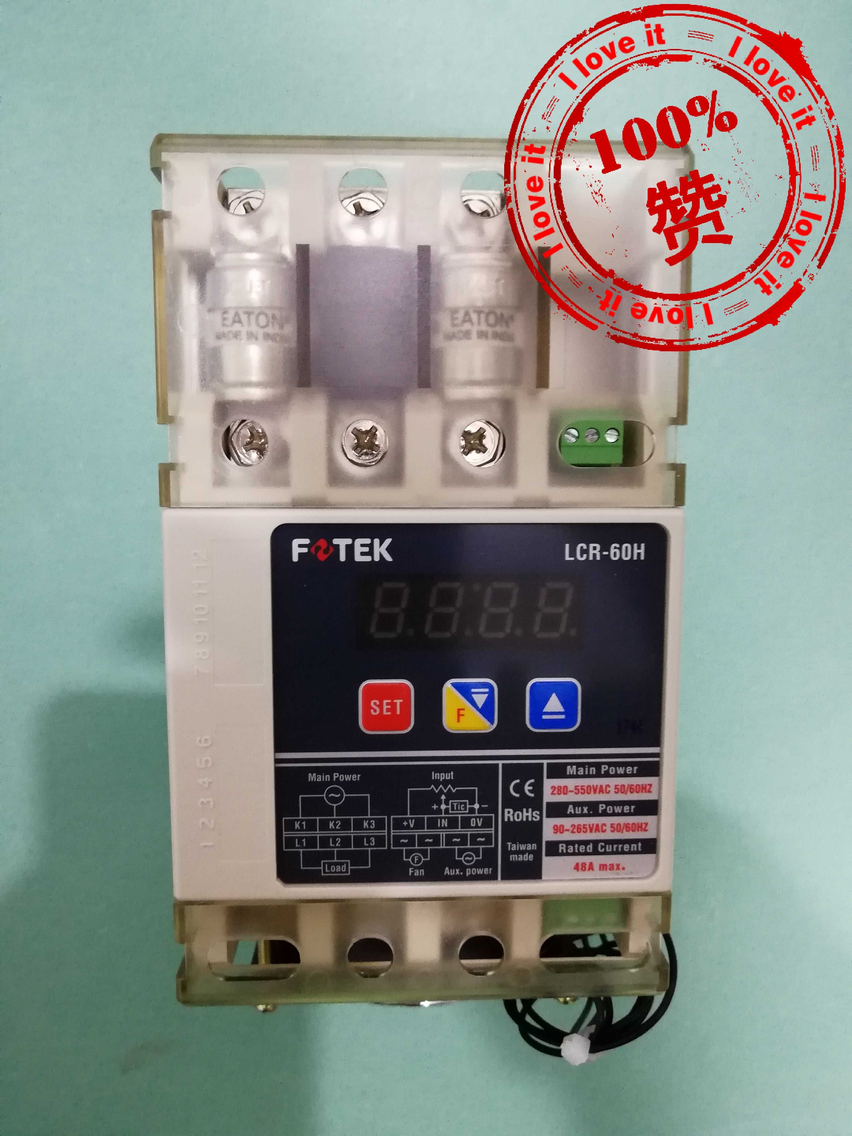 100% New Original LCR-60H Three-phase Solid-state Relays LCR-60-H