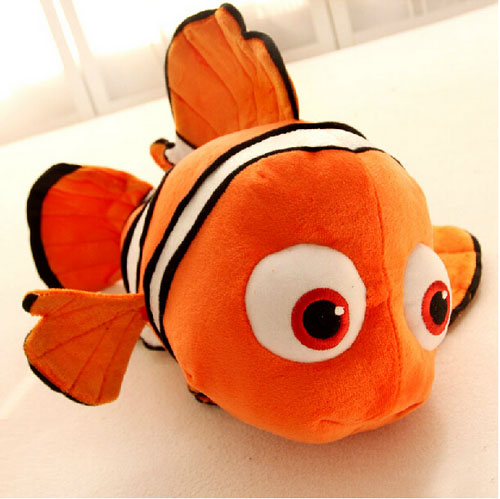 25cm Nemo Movie Cute Clown Fish Stuffed Animal Soft Plush Toy Plush Doll Kids Lovely Toys