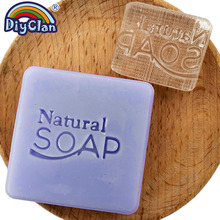 Natural Soap Handmade Resin Stamp Clear Diy Organic Glass Chapter With Handle Acrylic Making Chapters Custom