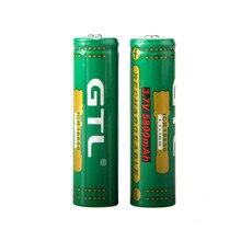 4PCS 100% New Original NCR 18650 3.7V 5800 mah Lithium Rechargeable Battery Large Capacity GTL flashlight Li-ion battery