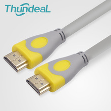 ThundeaL 2.0 HDMI Cable 1.5M 5M 20M 19PIN Plated Video Audio Cable Male to Male Extender Adapter  4K*2K 3D for Monitor PC TV(China)