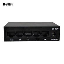 5 Ports 10/100Mbps Fast Ethernet Switch Netzwerk Volle Halbe Duplex Transfer Hohe Leistung Mini Ethernet Switch HUB desktop RJ45