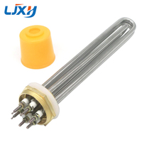Water Heating Element 220V 380V 1 2 Copper Thread 304 Stainless Steel Water Heater Element