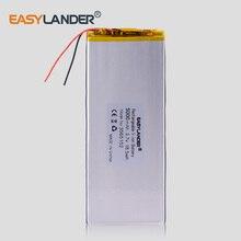 3,8 V 3,7 V 5000 mAh 3565152 PLIB полимерный литий-ионный/литий-ионный аккумулятор для планшетных ПК