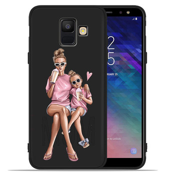 Baby Mom Arabic Africa Girl queen For Samsung Galaxy A9 A8 A7 A6 A5 A3 J3 J4 J5 J6 J8 Plus 2017 2018 phone Case Cover Coque Etui 1