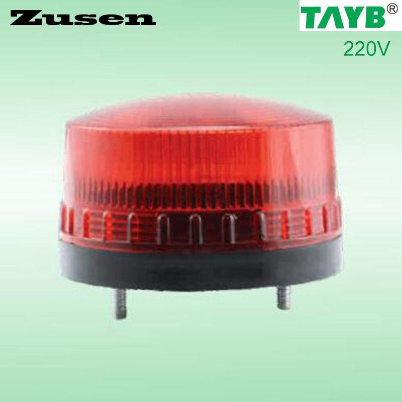 Zusen 3 Couleur de led rouge TB35 220 V Alarme de Sécurité Strobe Signal Voyant LED Lampe petit Clignotant Lumière