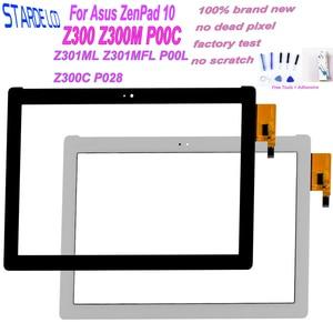 10.1 For Asus ZenPad 10 Z300 Z300M P00C Z301ML Z301MFL P00L Z300C P028 P01T Touch Screen Digitizer Panel Sensor Tablet Part