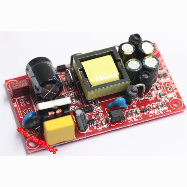 US $3 32 |12V1A\5V1A fully isolated switching power supply module / 220V  turn 12v 5v dual output / AC DC module-in Switching Power Supply from Home