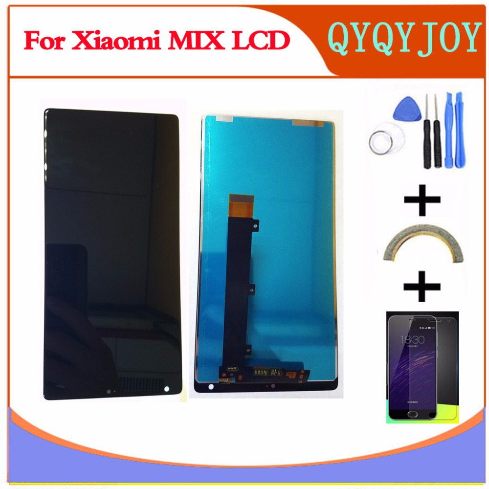 AAA Quality Touch Screen Glass+LCD Display Digitizer Assembly For Xiaomi Mi MIX 6.4inch  LCD  Replacement Parts AAA Quality Touch Screen Glass+LCD Display Digitizer Assembly For Xiaomi Mi MIX 6.4inch  LCD  Replacement Parts