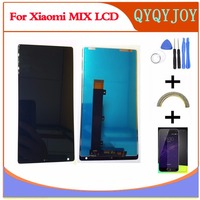 Q Y QYJOY AAA Quality Touch Screen Glass LCD Display Digitizer Assembly For Xiaomi Mi MIX