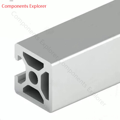 Arbitrary Cutting 1000mm 2020 Three Edges Aluminum Extrusion Profile,Silvery Color.