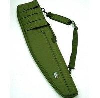 1.2 m Heavy Duty Caccia Pistola Sacchetto Della Cassa/Cassa Del Fucile Tattico Sacca A Tracolla Del Sacchetto per 911 Indietro/Tan/CP/Verde
