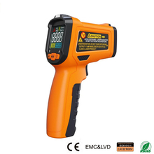 Thermometer PM6530A Infrared Thermometer Handheld Temperature Gun Non-contact LCD Digital Display With Remote Sensor Laser