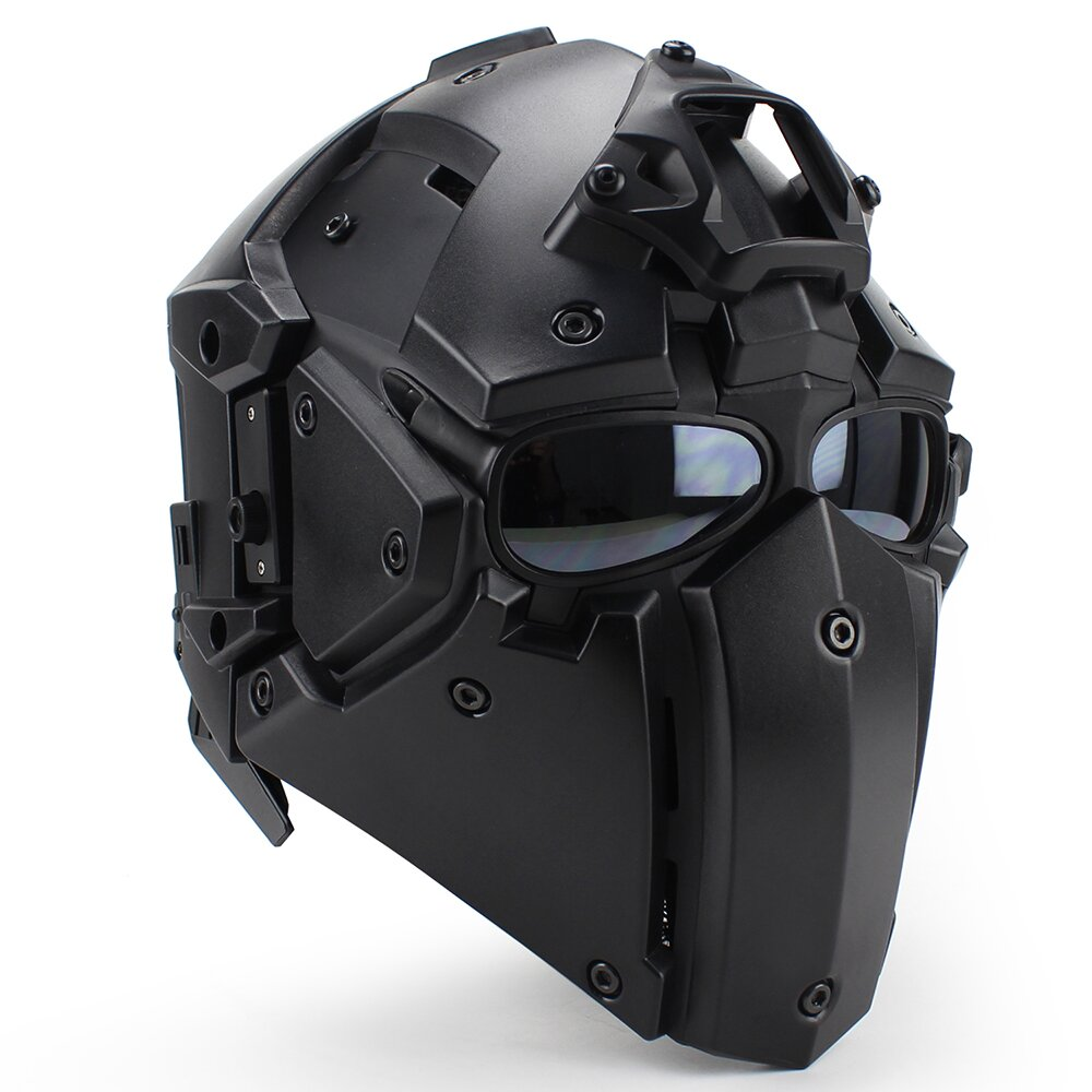 Motorcycle Helmet Full Face Bicycle Tactical Helmets Racing Motocross Casque hors route Casque Moto Capacete Moto