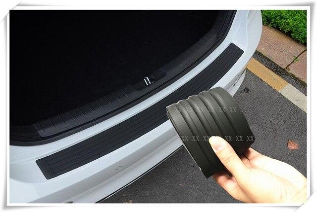 1PC Car Styling Door Sill Guard Rear Bumper Protector Strip For Nissan  Qashqai Geniss Juke Almera Primera pathfinder accessories