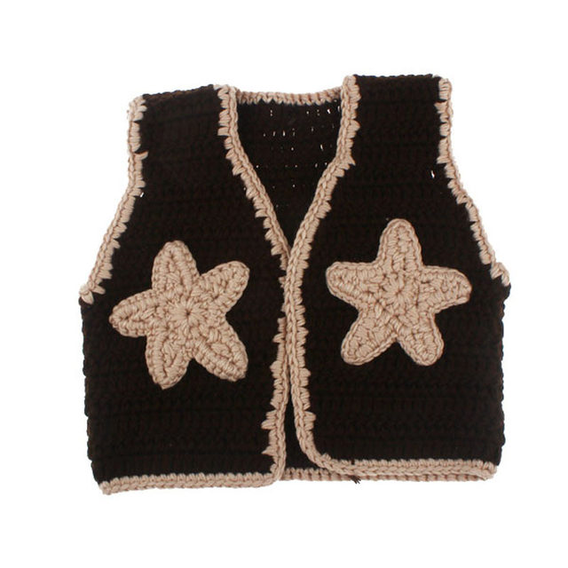 Online Shop Baby Cowboy Boots And Vest Set Crochet Pattern Infant