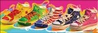 Kolorowe Buty pełnych ćwiczeń Mozaiki 5D Diy Hafty Diament Malowanie Żywicą rhinestone 3D Cross Stitch Zestawy room decor Naklejki