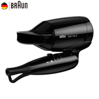 Braun Mini Hair Dryer 130 Hair Styling Tools Professional Foldable Electric Hairdryer Fast Drying Foldable Blow