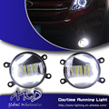 One-Stop Shopping Car Styling led Fog Lamp for Ford Mondeo Fusion Fog Light with C shape DRL Automobile Daytime Light