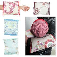 Barnkudde Nursing Pillow Justerbar Armkudde Höger Kudde Bomull Tvättbar Matkudde Barnvård Sängkläder Tillbehör