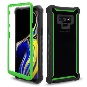 Heavy Duty Protection armor PC TPU Phone Case for Samsung Galaxy Note 20 S20 Ultra 8 9 S8 S9 S10 Plus Lite S10e Shockproof Cover