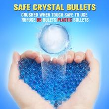 13000 шт цветные растущие Водяные Шарики Пуля для пистолета игрушка бластер аксессуар 7-8 мм жемчуг мягкий кристалл гель вода шарик полимер гидрогель