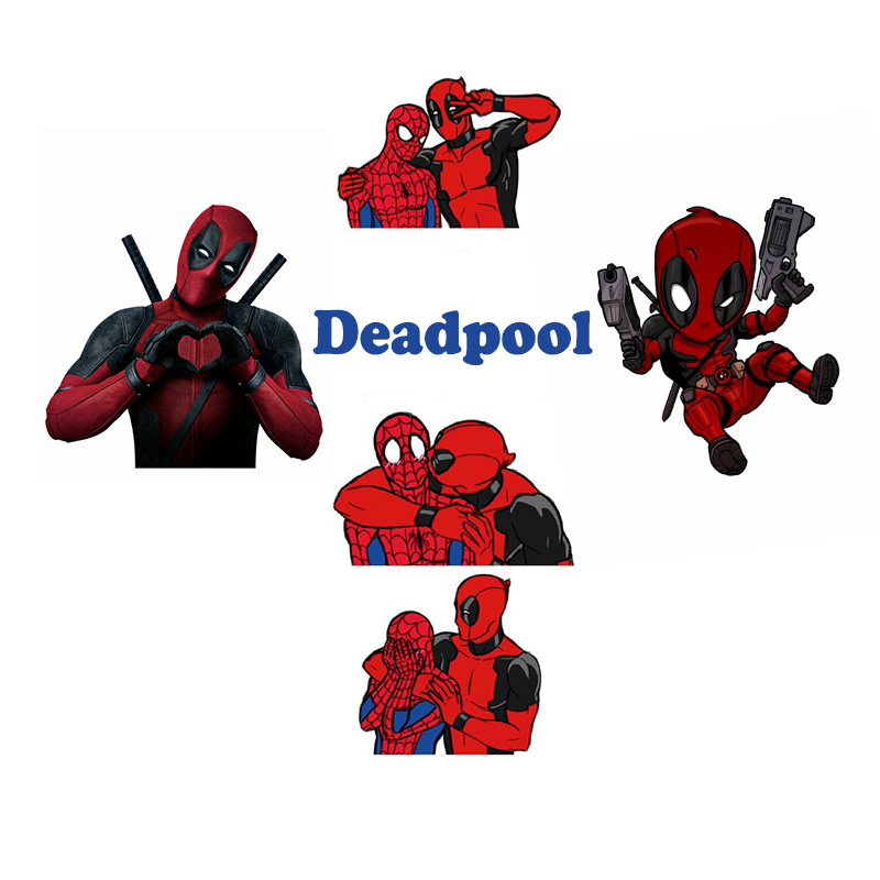 Nice Nengdou Y99 Movie Deadpool Spider-man Cosplay Acrylic Brooches Pins For Backpack Bag Jeans Clothes Badge Jewelry Funny Icons Preventing Hairs From Graying And Helpful To Retain Complexion Badges Home & Garden