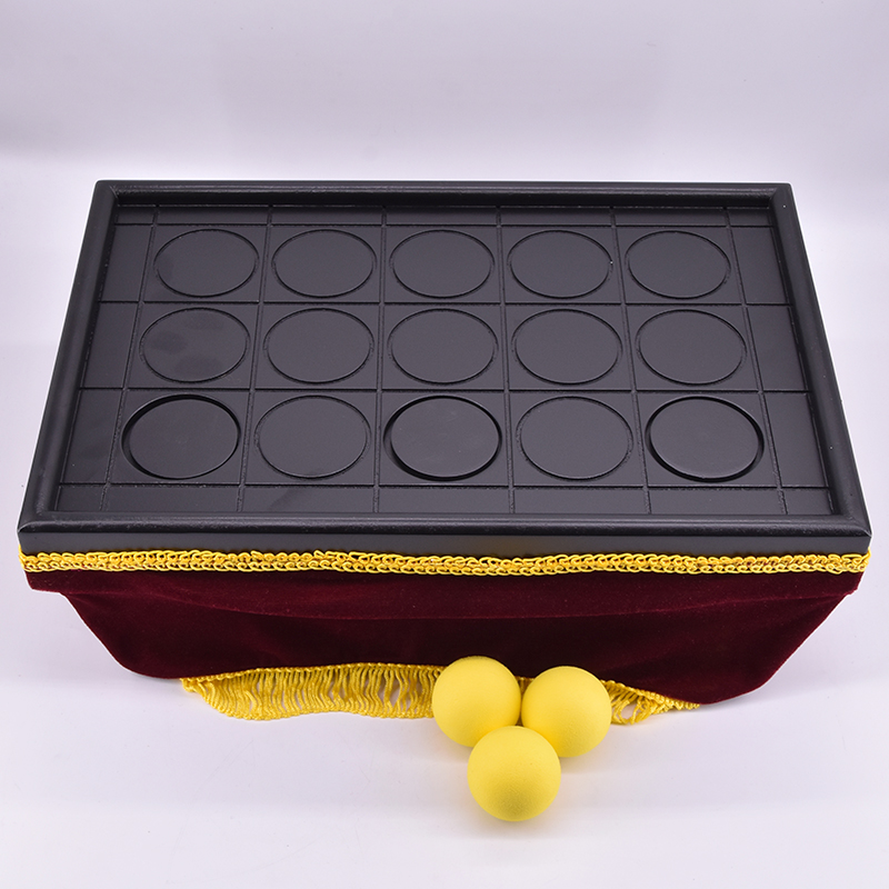 Con Ball Tray(size:14 x 9x 6) Magic Tricks Magician Appearing/Vanising Ball Magie Close Up Illusion Gimmick Props Comedy