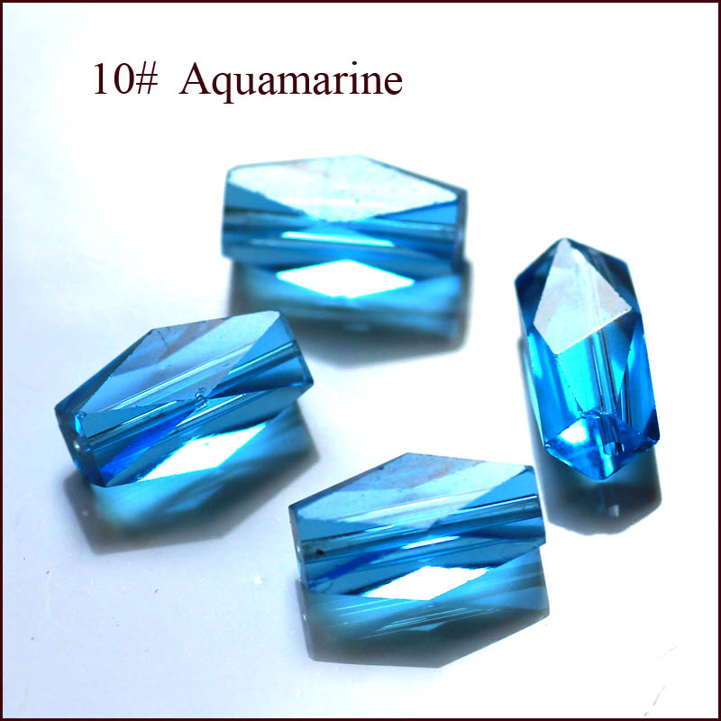 FREE SHIPPING 8x4MM Unique RECTANGLE SPACER LOOSE BEADS STONE FOR DIY JEWELRY MAKING 100PCS in Beads from Jewelry Accessories