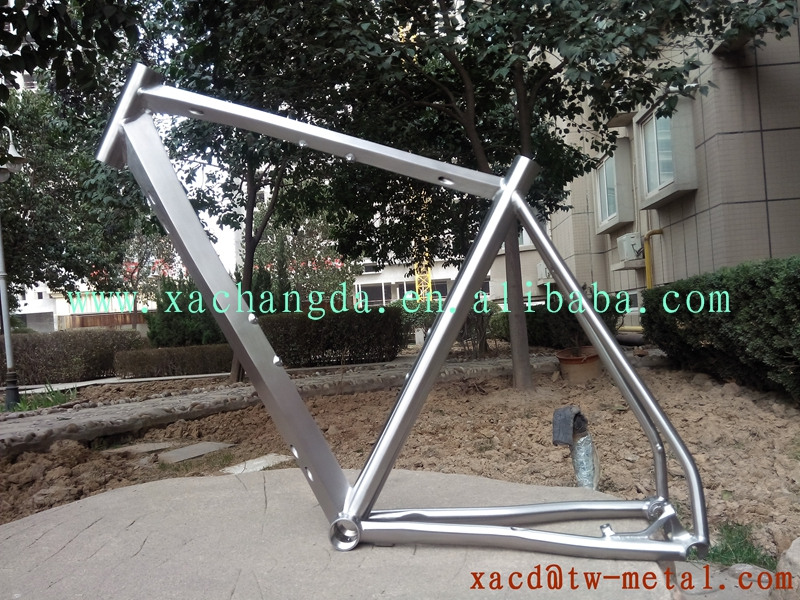 chinese Ti road bike frame titanium road bicycle frame with diamond ...