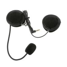 Новые Полезные микрофон Динамик мягкий аксессуар для мотоцикл домофон работать с 3.5mm-plug