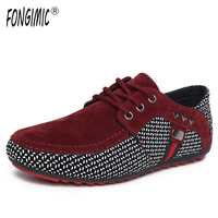 2016Spring Summer Men Breathable Casual Shoes Fashion England Trend Comfortable Skate Shoes Lace Up All Match