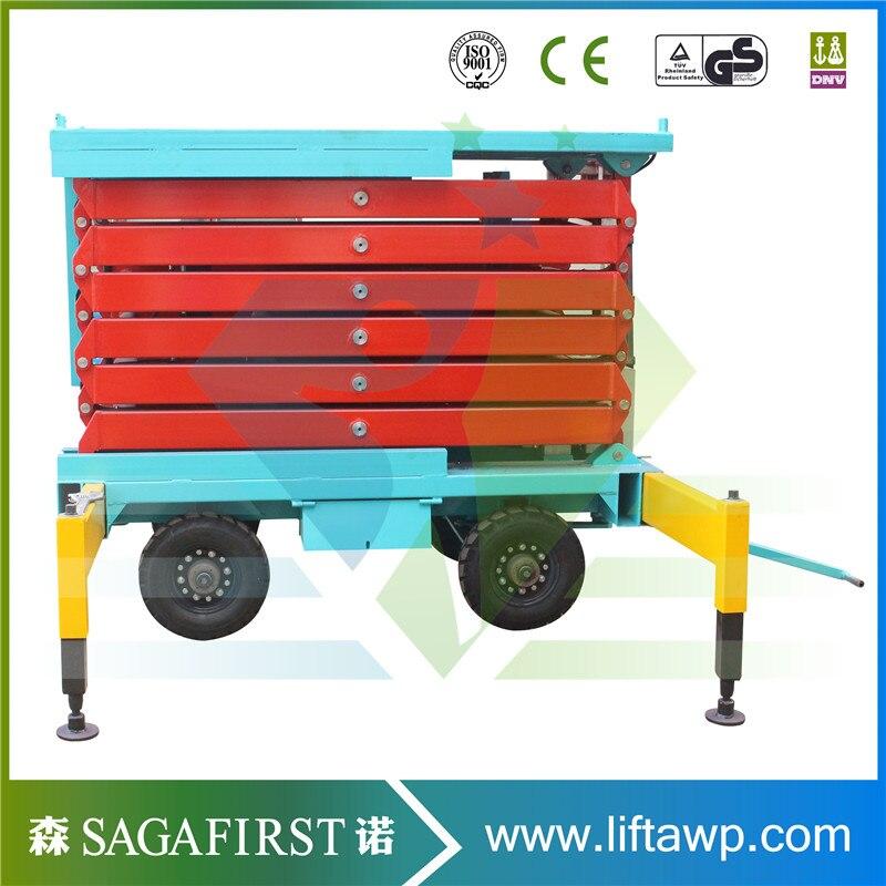 450kg,1000kg,300kg High End  Mobile Scissor Lift