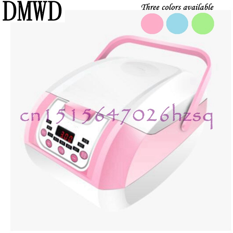 DMWD 3.0L Portable Electric Rice Cooker Micro-computer control For 3-4 persons Household multifunctional cake/yogurt/soup 1 2l portable electric cooker rice cooker used in house or car enough for 1 2 persons