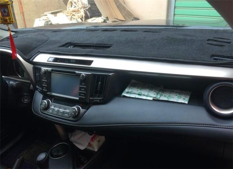 Car Dash Mat Dashboard Cover For Toyota RAV4 2013 2014 2015 2016 2017 2018 XA40