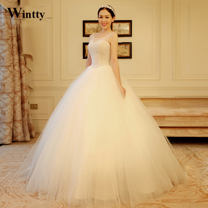Real Maine Weddings 2017: Wintty Ball Gowns Vestidos 2017 Wedding Dresses 2016