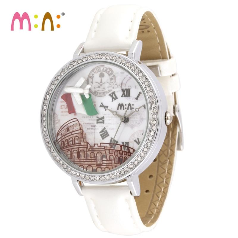 Luxury Brand Women Watches 2017 Fashion Waterproof 3D Airplane Bracelet Ladies Quartz Wrist Watch Clock Woman Relogio Feminino