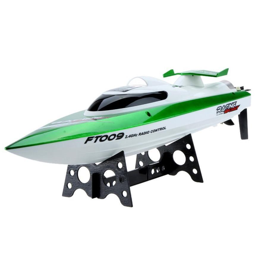 Nouveau Feilun FT009 2.4G de refroidissement d'eau 4CH Télécommande de RC Extérieure haute vitesse racing bateaux (vert)