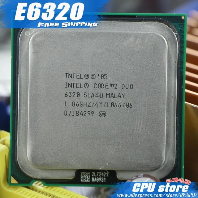 INTEL R CORE TM 2 CPU 6320 DRIVER FOR WINDOWS 10