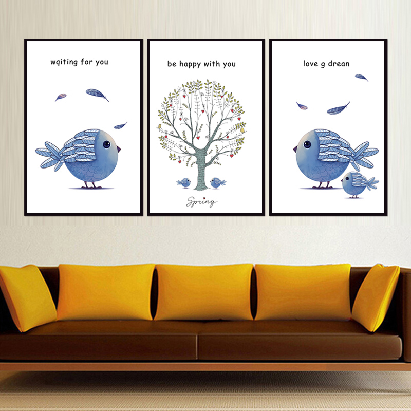 Factory wholesale No Framed Modern elk series Canvas Print On Canvas Printing Wall Pictures 12YM A 588 in Painting Calligraphy from Home Garden