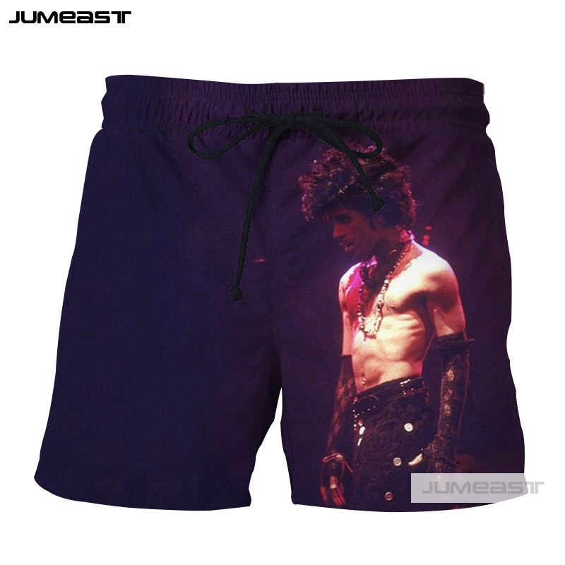 Well-Educated Jumeast 3d Printed Prince Rogers Nelson Short Pants Cool Men/women Loose Size Shorts American Musicians Novelty Board Shorts Men's Clothing