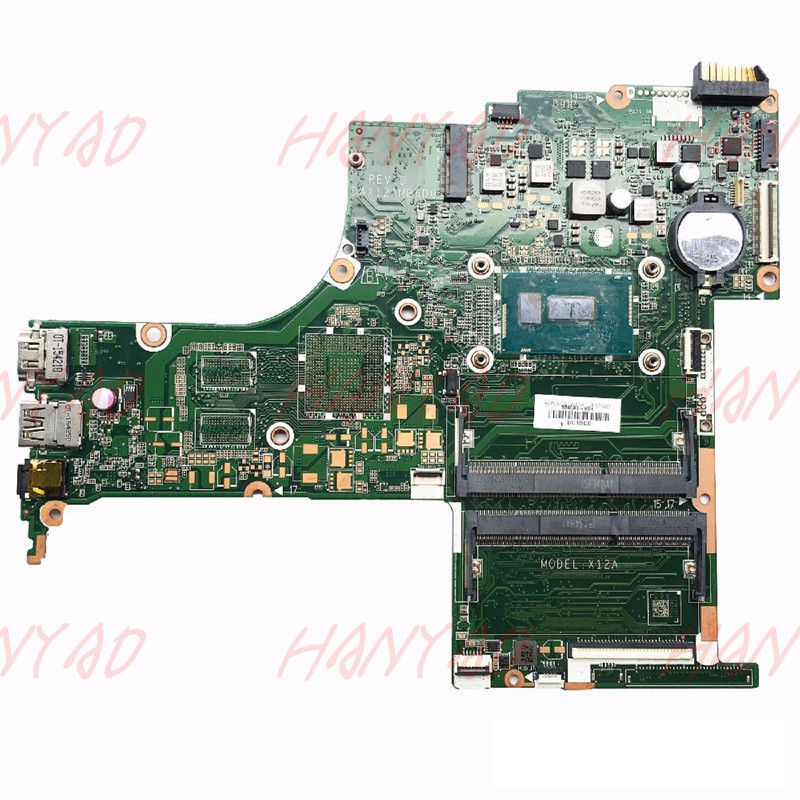 809041 501 809041 601 For HP 15 AB laptop motherboard With I5 DAX12AMB6D0 Free Shipping 100 test ok in Laptop Motherboard from Computer Office