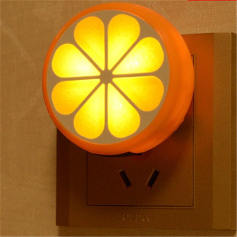 Mini LED Light Control Wall Night Light Energy Saving Baby Feeding Lamp Creative Motion Sensor Bedroom Bedside Garland Decor