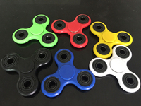 Tri-Spinner Fidget Toy Plastic EDC Hand Spinner For Autism and ADHD hand spinner EDC Sensory Fidget Spinners