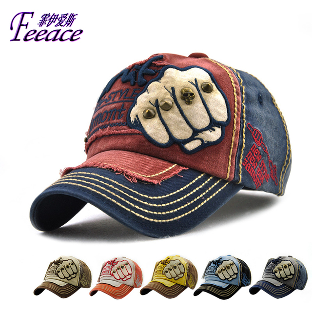 8c86bf264a77 FEEACE Baseball cap Cotton peaked cap,Sports cap.Hat embroidery letters,Sun  Hat, Male and female fashion cap B9910